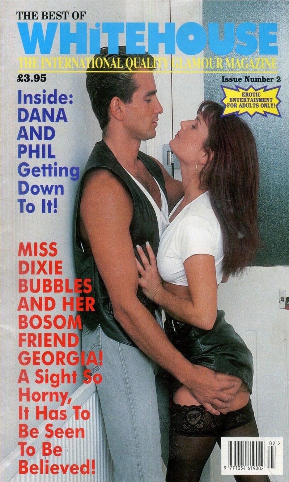 Best of Whitehouse # 2 magazine back issue Best of Whitehouse magizine back copy