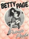 Betty Page Private Peeks # 4 magazine back issue
