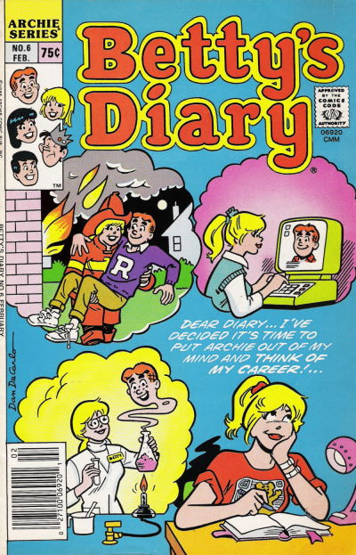 Betty's Diary A1 Comix Comic Book Database