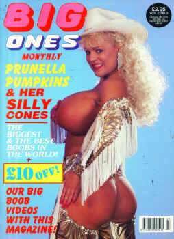 Big Ones UK Vol. 2 # 3 magazine back issue Big Ones UK magizine back copy