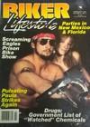 Biker Lifestyle February 1985 magazine back issue