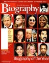 Biography January 2003 magazine back issue cover image