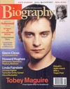 Biography August 2003 magazine back issue cover image