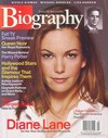 Biography September 2003 magazine back issue cover image