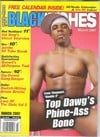 Black Inches March 2007 magazine back issue cover image