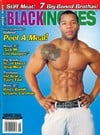 Black Inches August 2009 magazine back issue cover image