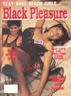 Black Pleasure # 1 magazine back issue