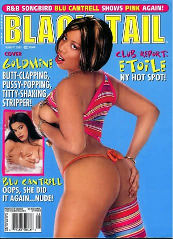 Blu cantrell pussy in blacktail magazine images 865