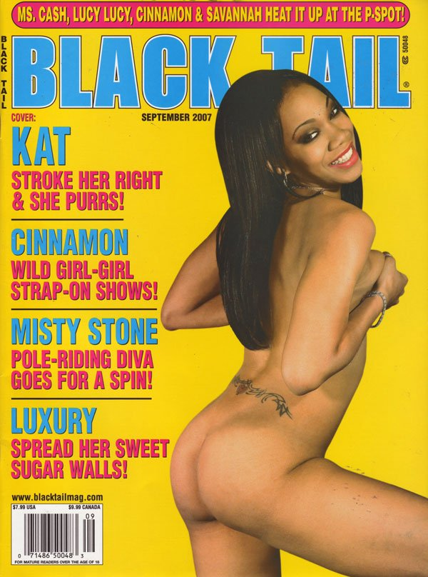 Black Tail September 2007 magazine back issue Black Tail magizine back copy blacktail magazine sexy black women in explicit poses african ladies big juicy booty pixxx sex photo