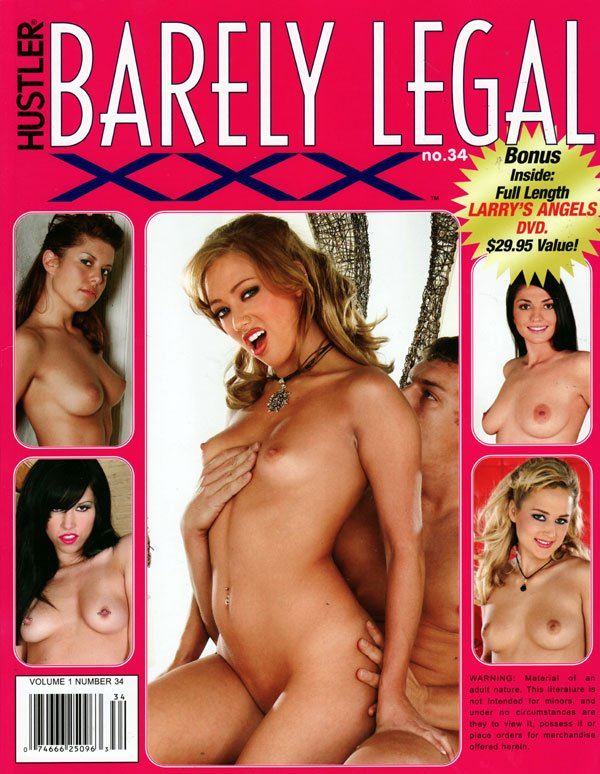 Hustler barley legal 34 movie board