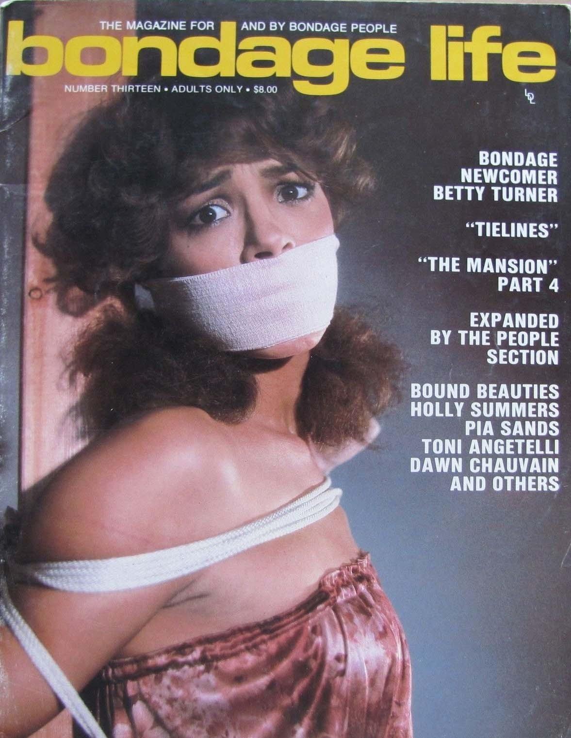 Bondage Life # 13 magazine back issue