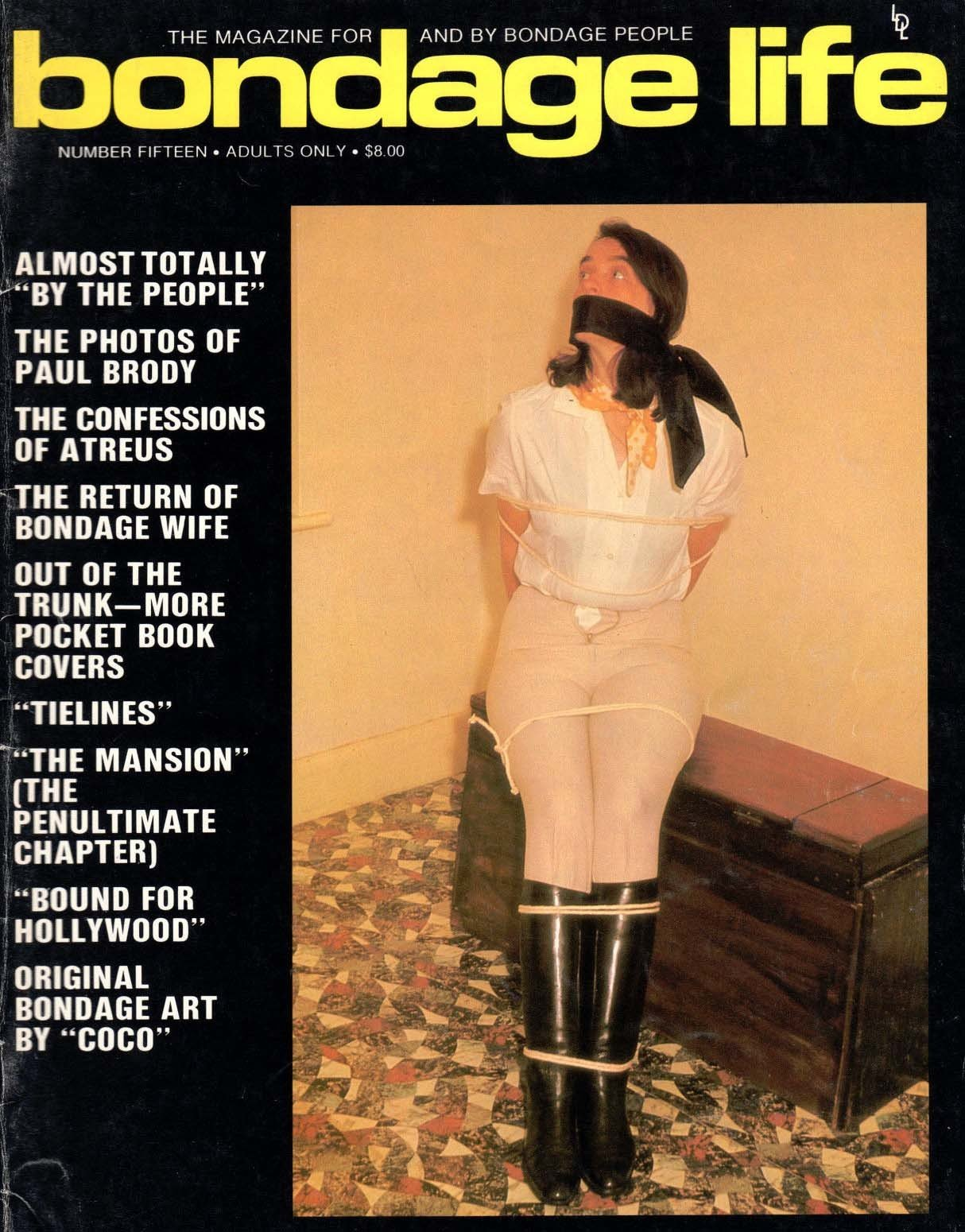 Bondage Life # 15 magazine back issue