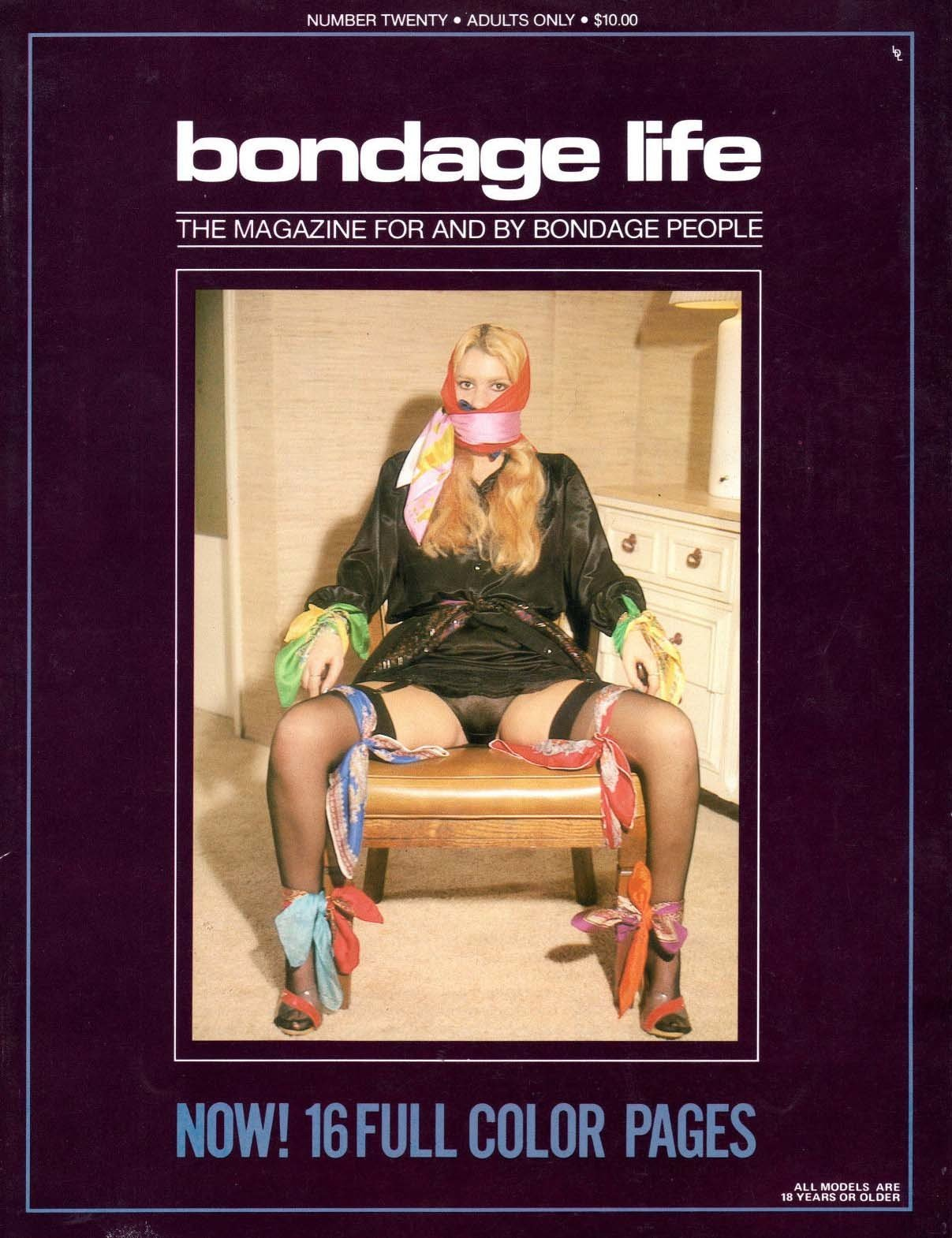 Bondage Life # 20 magazine back issue