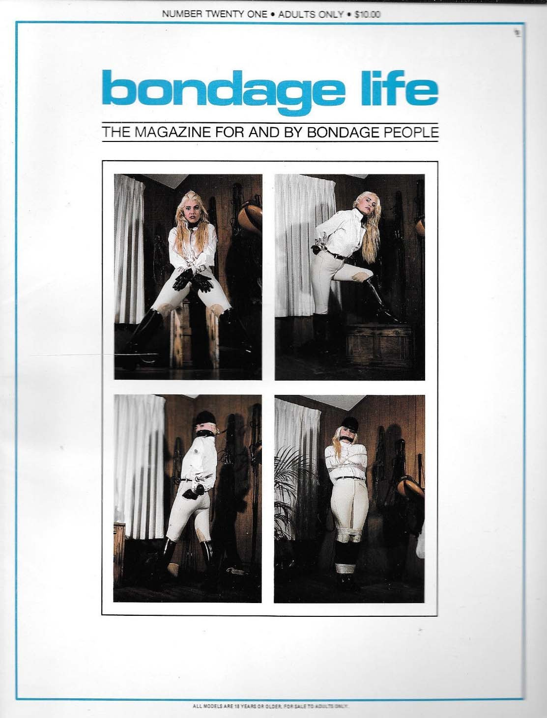 Bondage Life # 21 magazine back issue