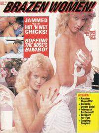 Brazen Women March 1991 magazine back issue
