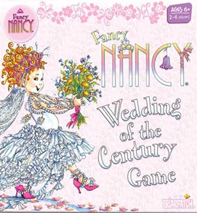 fancy nancy wedding of the century board game made by briarpatch toys and games usa fancy-nancy-wedding-game