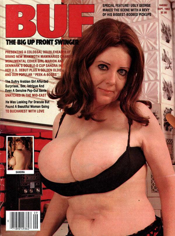 BUF (Big Up Front) Swinger September 1983 magazine back issue BUF (Big Up