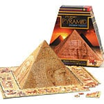 mystery of the pyramid jigsaw puzzle, 3d puzzle shaped like a pyramid mysteryofthepyramid