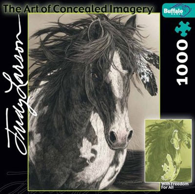 judy larson's the art of conceiled imagery, with freedom for all withfreedomforall