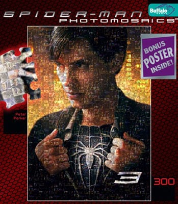 spider-man movies jigsaw puzzle by buffalo, peter parker peterparker