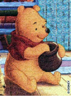 winnie the pooh 2d jigsaw puzzle, disney collection puzzles winniethepooh