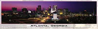 atlanta georgia panoramic 2d jigsaw puzzle by buffalo atlantageorgia