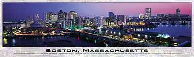 boston massachussets buffalo jigsaw puzzle, panoramic photographs boston