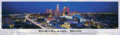 cleveland ohio buffalo panoramic jigsaw puzzle, cityscapes of photos by james blakeway clevelandohio