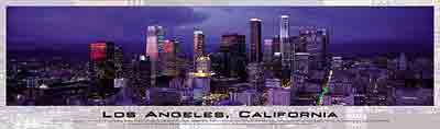 los angeles california, buffalo jigsaw puzzle, panoramic puzzles from photos of james blakeway losangelescalifornia