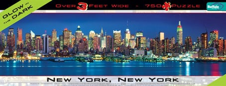 panoramic buffalo puzzles 750 pieces, breathtaking cityscapes, new york newyorkcitynewyorkpuzzle