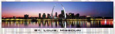 panoramic buffalo puzzles 750 pieces, breathtaking cityscapes, st.louis missouri stlouismissouri