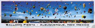 balloon fiesta buffalo panoramic jigsaw puzzle, albuquerque balloon fiesta balloonfiesta