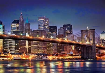 jigsaw puzzle broklynbridge newyork newyorkcity 2000pieces beautiful buffalo design hotstamping brooklynbridgenewyorknewyork