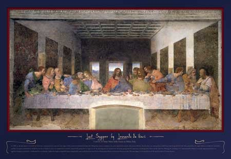 2000 Piece Jigsaw Puzzle manufactured by Buffalo Games Classic art by DaVinci thelastsupper