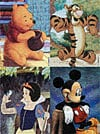disney jigsaw puzzles, winnie the pooh, mickey mouse, snow white, tigger