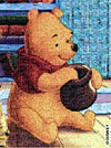 winniethepooh,winnie the pooh 2d jigsaw puzzle, disney collection puzzles