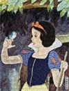 snow white 3d flat puzzle by buffalo, disney jigsaw puzzles