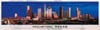 houstontexas,houston texas buffalo jigasw puzzle, panoramic photograph by james blakeway