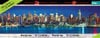 panoramic buffalo puzzles 750 pieces, breathtaking cityscapes, new york