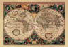 nova totius terrarum orbis geographica ac hydrographica tabula world map jigsawpuzzle olden times Puzzle