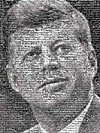 jfk,jfp photomosaic by robert silvers, jigsaw puzzle by buffalo