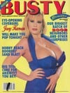 Busty Beauties September 1992 magazine back issue