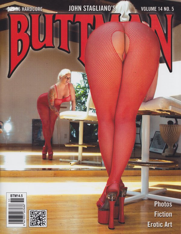 Buttman Vol. 14 # 5 magazine back issue Buttman magizine back copy Big butt,luscious,sexy asses,rounded,firm,buttfuck,erotic art,hardcore,Angel Vain,Bobbi Starr,Asa