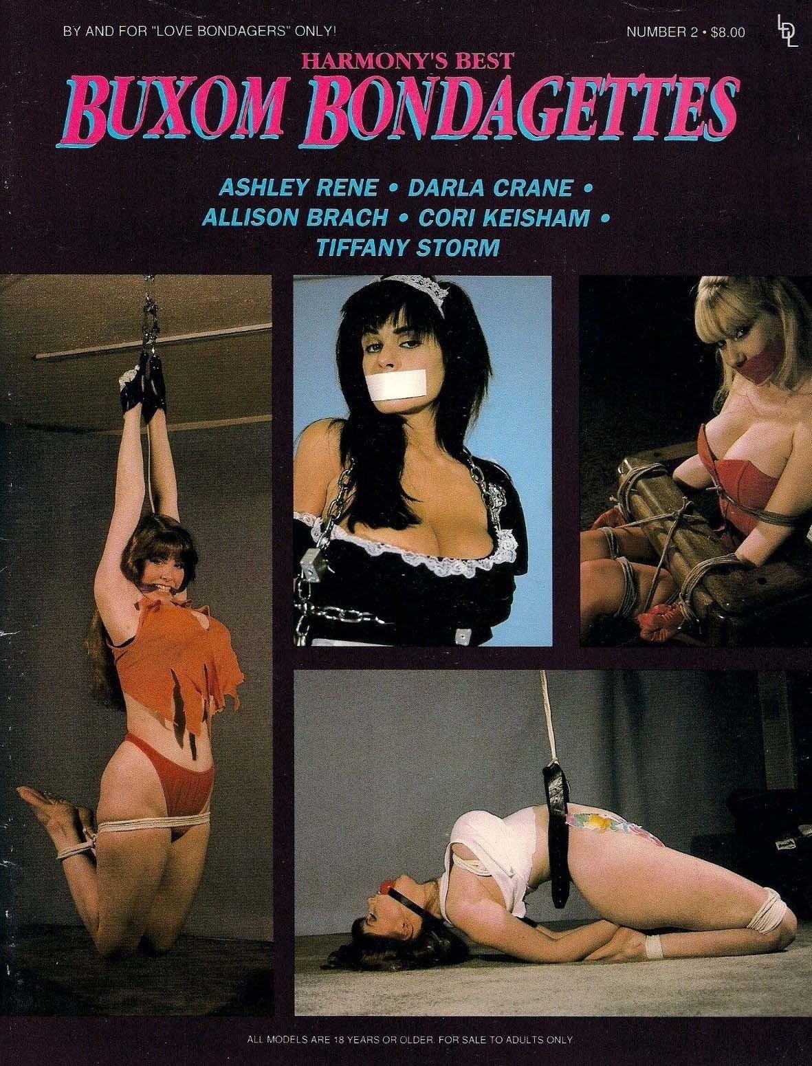 Buxom Bondagettes # 2 magazine back issue