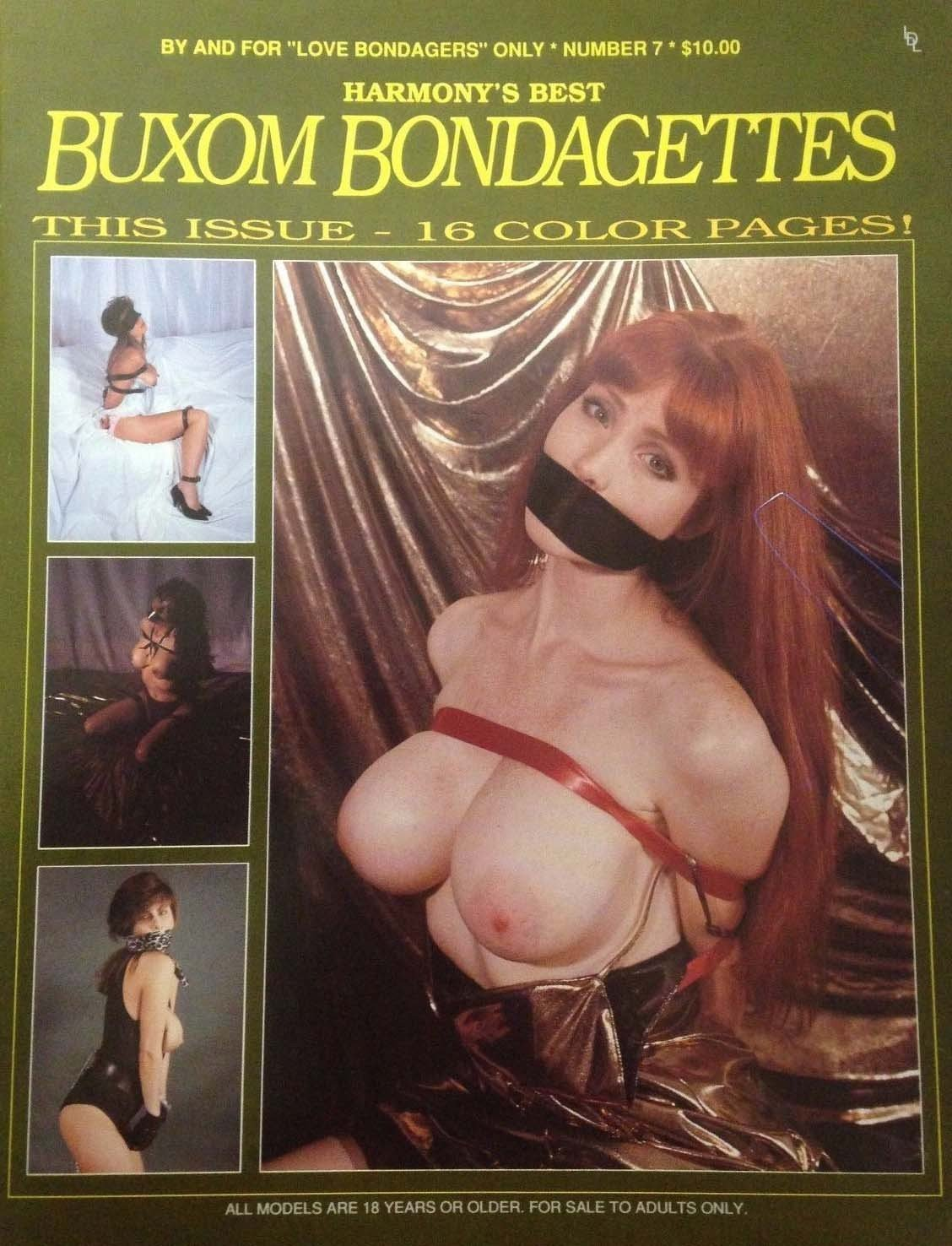 Buxom Bondagettes # 7 magazine back issue