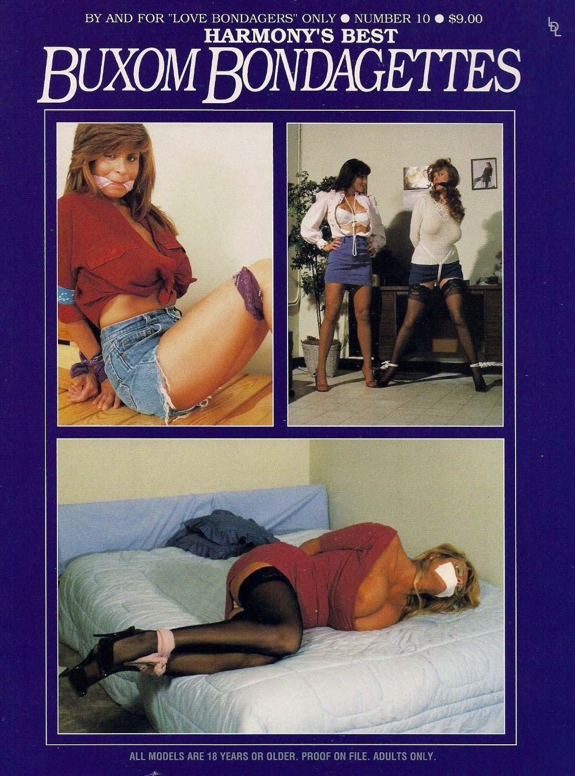 Buxom Bondagettes # 10 magazine back issue