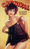 Carnival August 1958 magazine back issue