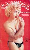Carnival October 1958 magazine back issue