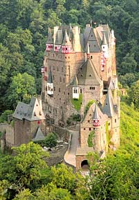 1000 pieces jigsaw puzzle by castorland, eltz castle germany eltzcastle