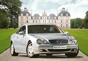 1000 pieces jigsaw puzzle by castorland, mercedes-benz class cl mercedesbenzclasscl